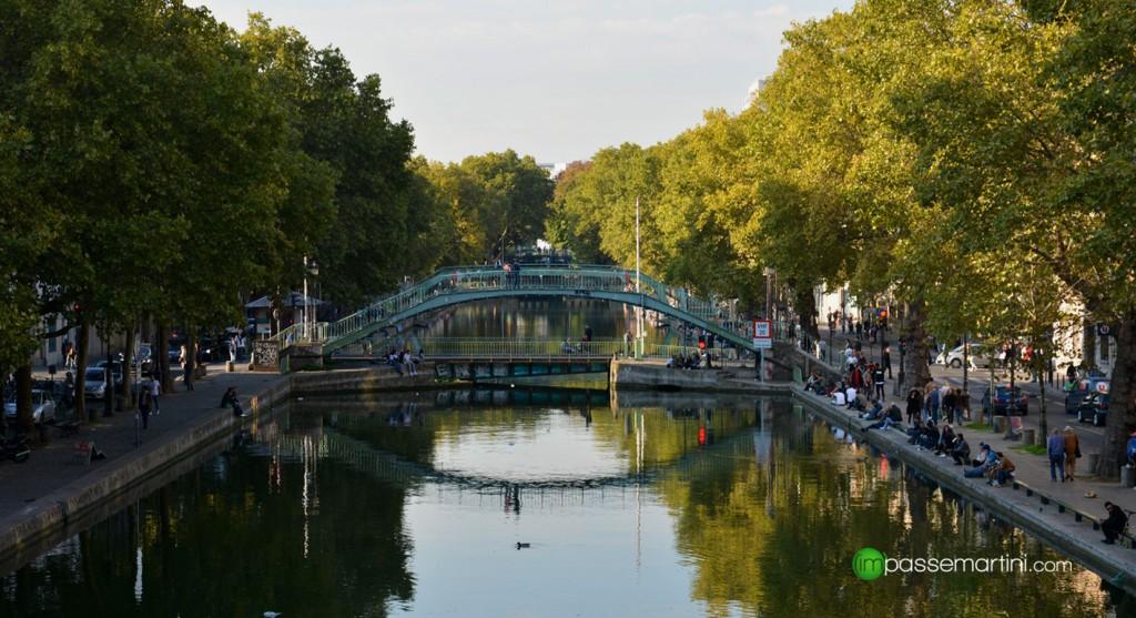 Le canal st Martin, UN APRÈS MIDI D'AUTOMNE