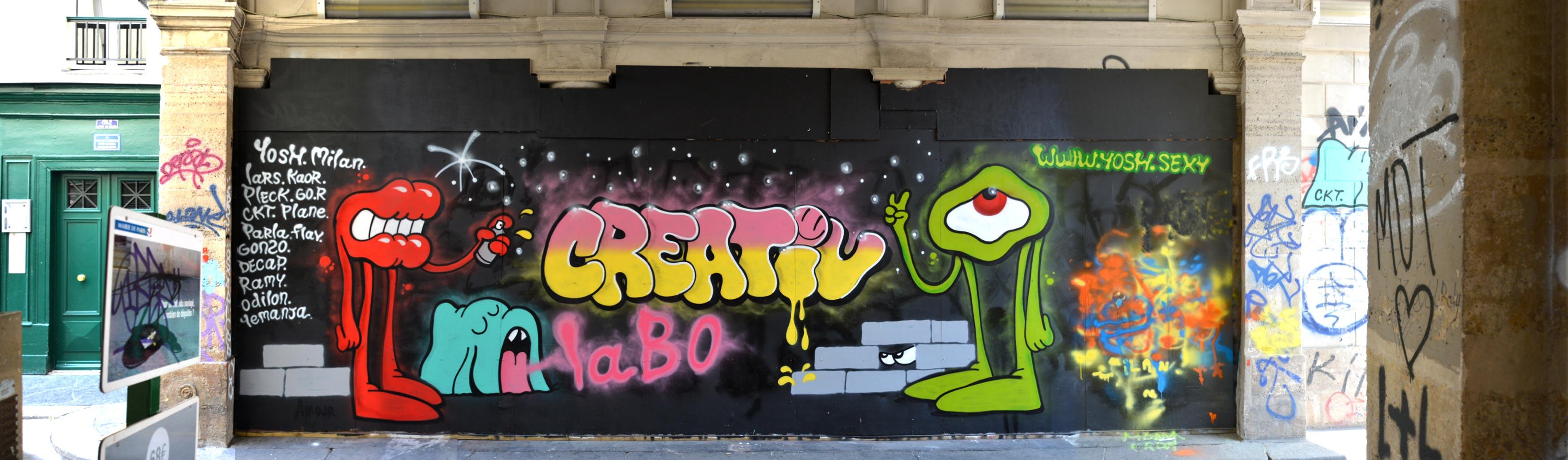 Street Art by Créative Labo