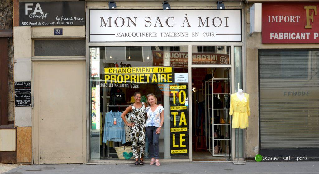 MON SAC Á MOI change de propriétaire Audrey et Tamara
