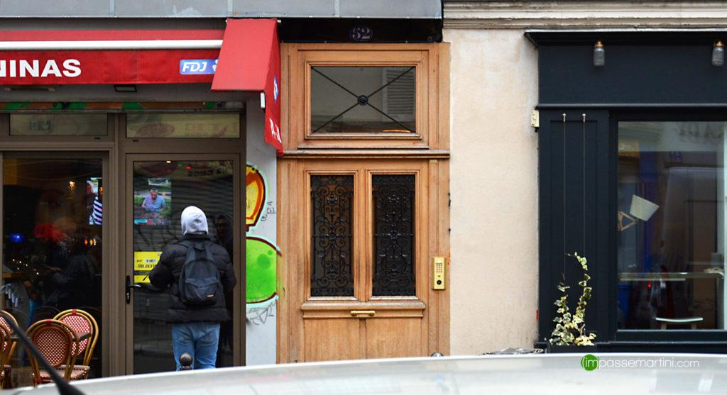 50 rue du Fbg st Matin 75010 Paris