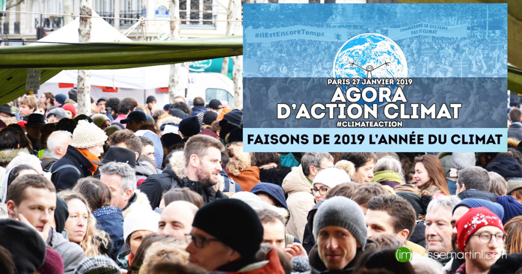 Agora d'action pour le climat PARIS 2019