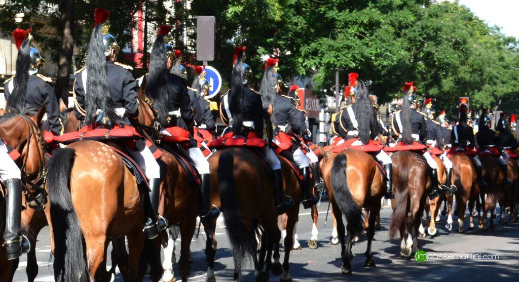 14 juillet 2017, dééfilé sur les grands boulevard