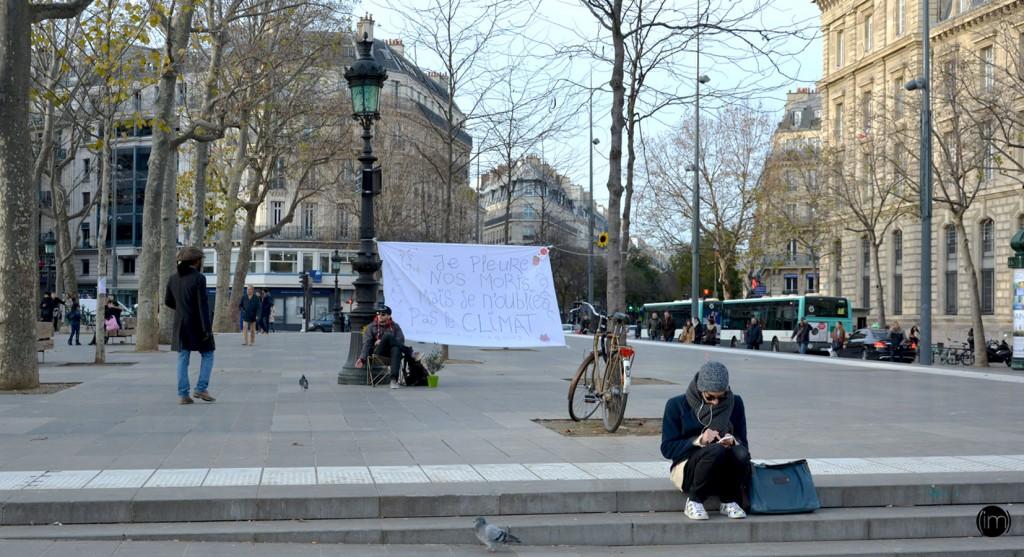 Place de la République le 28 11 2015