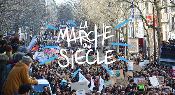 la marche du siècle les 16 mars 2019 Paris