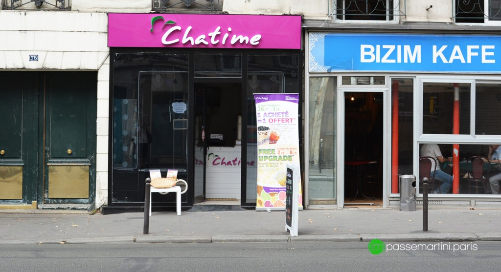 75 rue du faubourg ST Martin, 75010 Paris