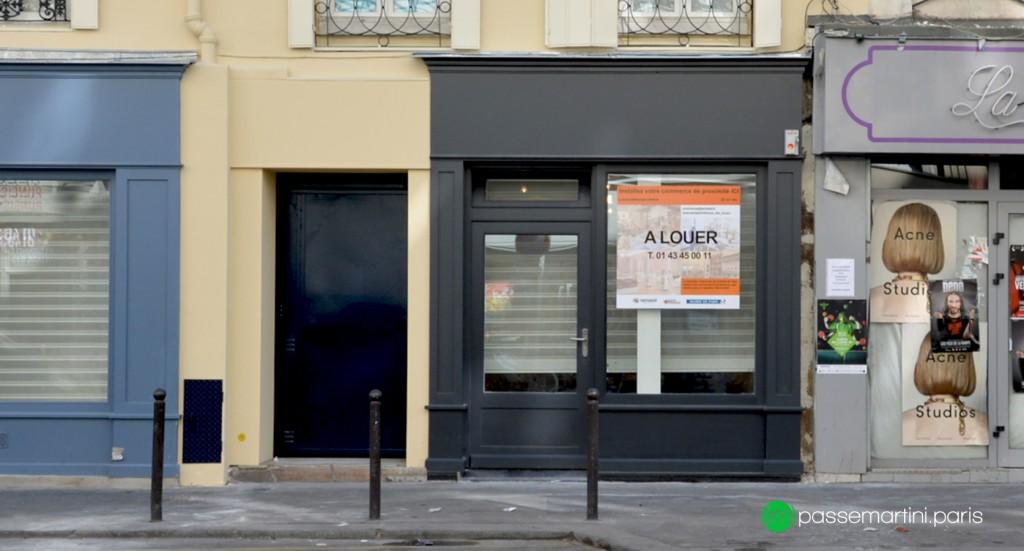10 rue du faubourg ST Martin-75010 Paris