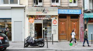 rue du faubourg st Martin 75010 Paris