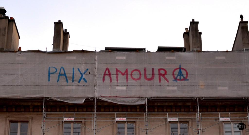 Boulevard St Denis le 26 11 2015