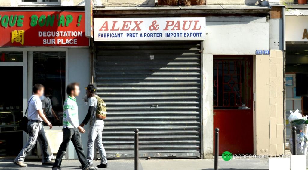 22/24 rue du Faubourg St Martin 75010 Paris