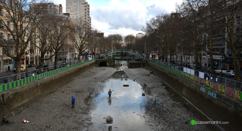 Le Canal ST Martin 60 cm d'eau