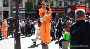 Hare Krishna, impasse Martini