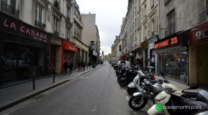 Archives. Rue du faubourg du Temple