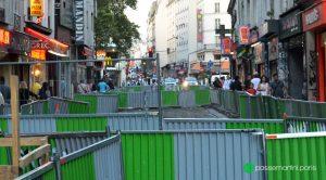 Barrières. Rue du faubourg du Temple