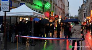 Inauguration de la rue du faubourg du Temple, Paris