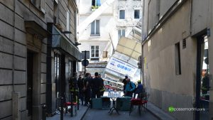 Impasse Martini lieu de refuge et de logistique