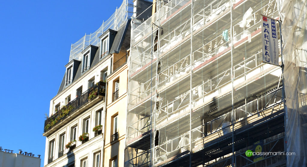 Rue du Fbg St Martin Paris