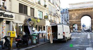 Rue du faubourg st Martin Porte ST Martin