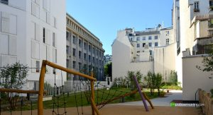 jardin Yilmaz Guney Paris 10