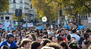 Marche pour le climat Paris 13 10 2018