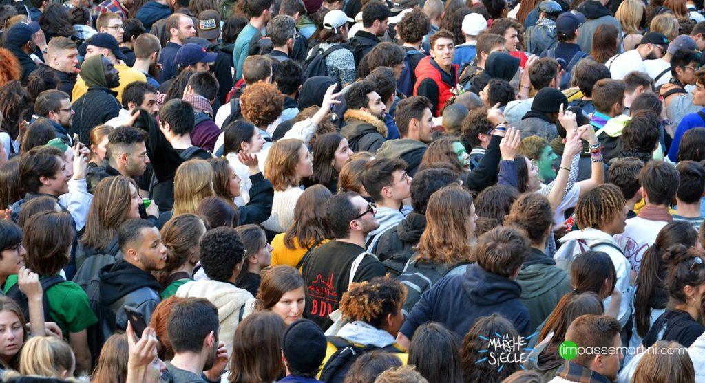 La marche du siècle, Paris 16 mars 2019 jeunes