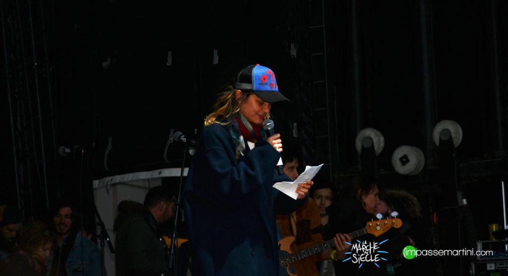 La marche du siècle, Paris 16 mars 2019 MARION COTILLARD