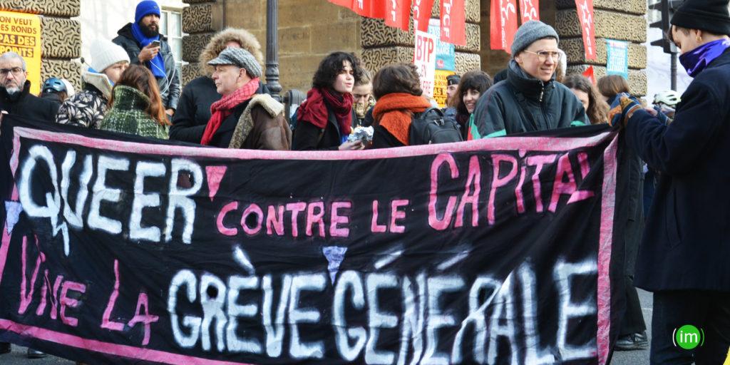 Manifestation contre les réformes de la retraites