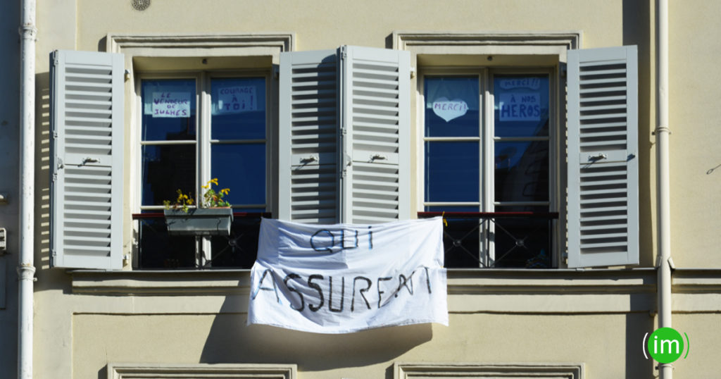 Message de solidarité