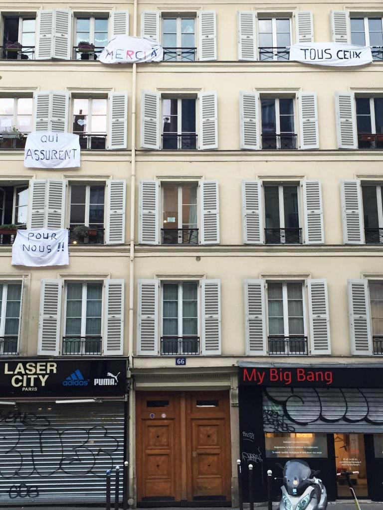Solidarité des habitant du 66 rue du faubourg St Martin 75010