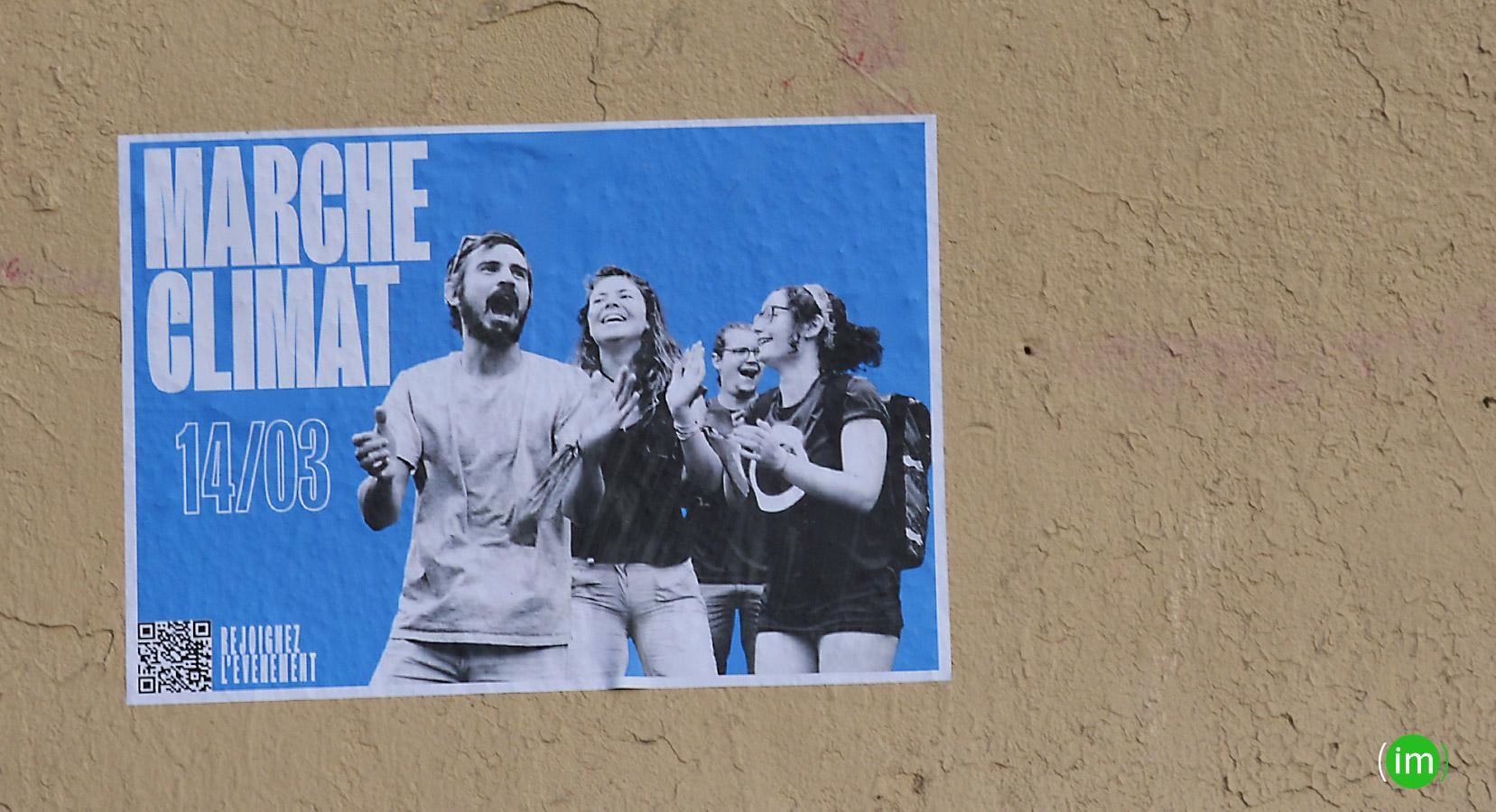 Marche pour le climat Samedi 14 03 2020
