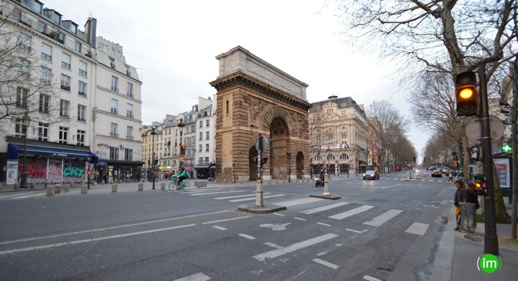 La porte Sint Martin confinement