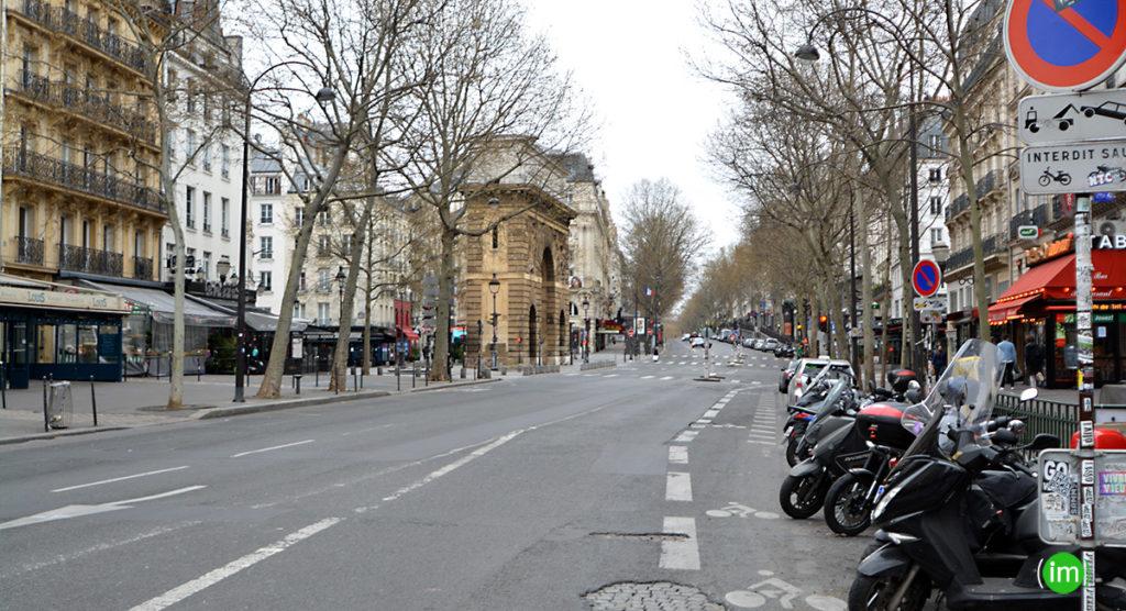 Boulevard saint Martin coronavirus