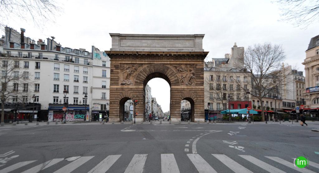 Porte Saint Martin coronavirus