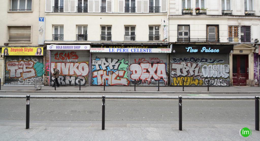 Rue du Château d'Eau Coronavirus