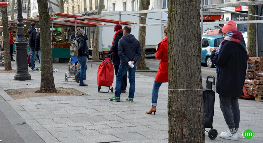 Dernier jour de marché Parisien